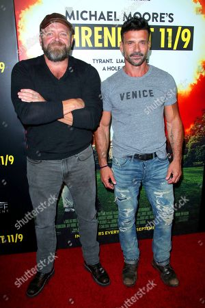 Stock Photo of Joe Carnahan and Frank Grillo