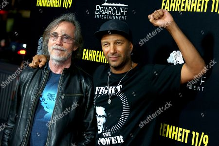 Jackson Browne and Tom Morello