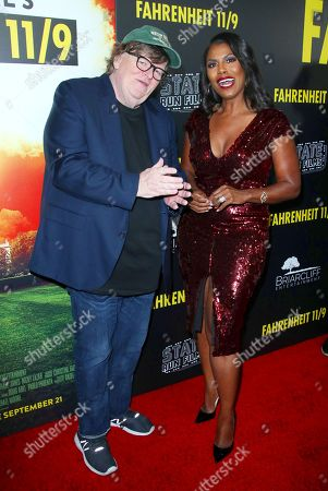 Michael Moore and Omarosa Manigault