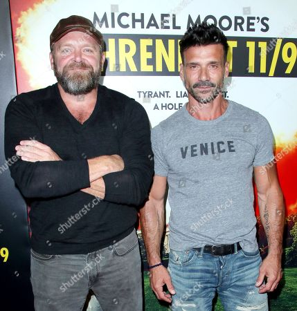 Stock Image of Joe Carnahan and Frank Grillo