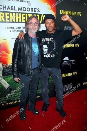 Jackson Browne and Tom Morello