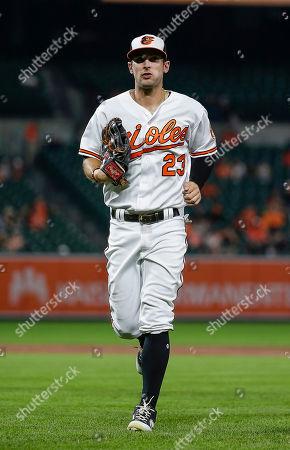 91801f078 Baltimore Orioles Left Fielder  23 Joey Rickard during a Major League  Baseball game between the