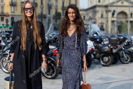 Carlotta Oddi and Chiara Tottire