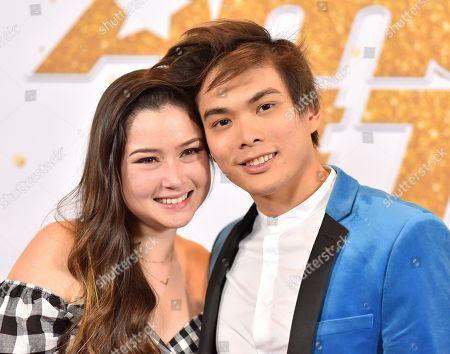 Shin Lim and Casey Thomas