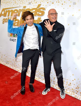 Shin Lim and Howie Mandel