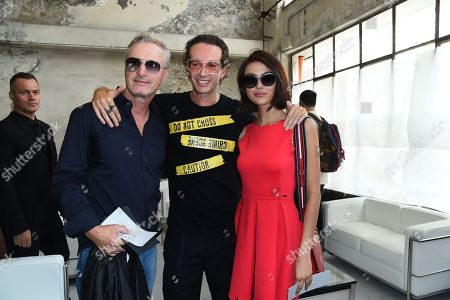 Eddi Irvine, Manuel Facchini, Guest in the front row