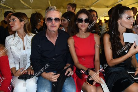 Eddie Irvine, Paola Turani in the front row
