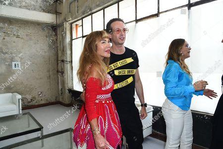 Lilli Bertolucci, Manuel Facchini in the front row