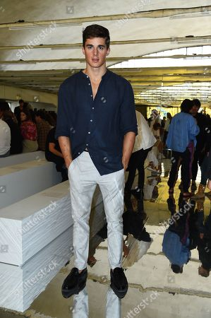 Pietro Boselli in the front row