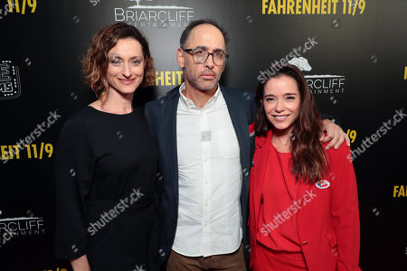 Editorial image of Michael Moore's 'Fahrenheit 11/9' film premiere at the Samuel Goldwyn Theater, Los Angeles, USA - 19 Sep 2018
