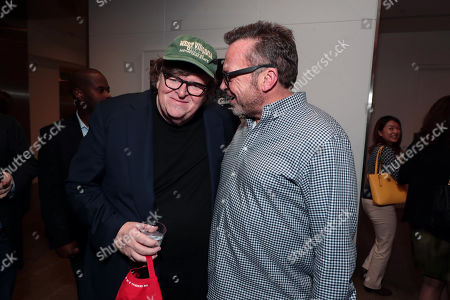 Michael Moore, Director/Writer/Producer, Tom Arnold