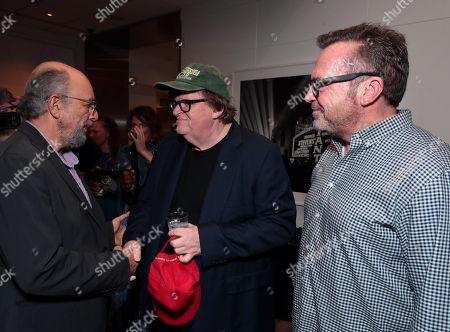 Richard Schiff, Michael Moore, Director/Writer/Producer, Tom Arnold
