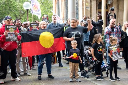 Protest demanding Justice for the Bowraville murders victim's families, Sydney