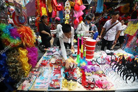 Mid-Autumn festival preparations, Vietnam