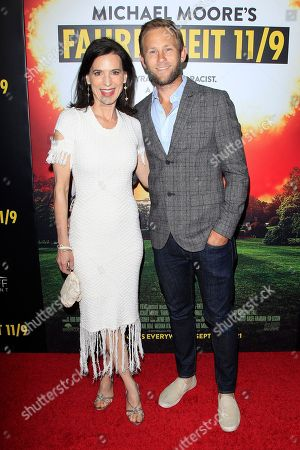 Perrey Reeves (L) and Aaron Endress-Fox arriving at the premiere of Briarcliff Entertainment's Fahrenheit 11/9 at Samuel Goldwyn Theater in Beverly Hills, California, USA 19 September 2018. The movie opens in the US 21 September 2018.