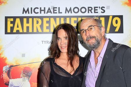 Sheila Kelley (L) and Richard Schiff arriving at the premiere of Briarcliff Entertainment's Fahrenheit 11/9 at Samuel Goldwyn Theater in Beverly Hills, California, USA 19 September 2018. The movie opens in the US 21 September 2018.