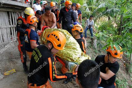 Landslide in Naga City