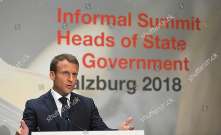 EU Summit, Salzburg
