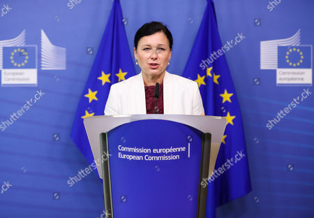 Press conference on AirBnB, EU Commission, Brussels