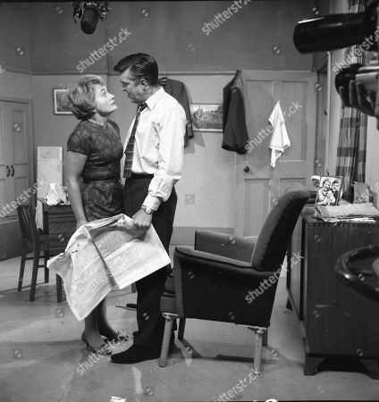 Doreen Keogh (as Concepta Hewitt) and Ivan Beavis (as Harry Hewitt)