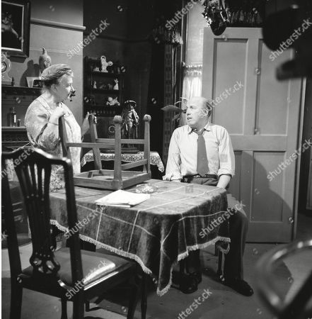 Margot Bryant (as Minnie Caldwell) and Patrick McAlinney (as Tickler Murphy)