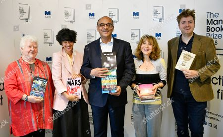 Editorial picture of Man Booker Prize 2018, London, UK - 20 Sep 2018