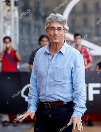 President of the festival's official jury, US director Alexander Payne, poses for the photographers upon arrival on the eve of the San Sebastian International Film Festival, in San Sebastian, Basque Country, Spain, 20 September 2018. The 66th edition of the SSIFF runs from 21 to 29 September.