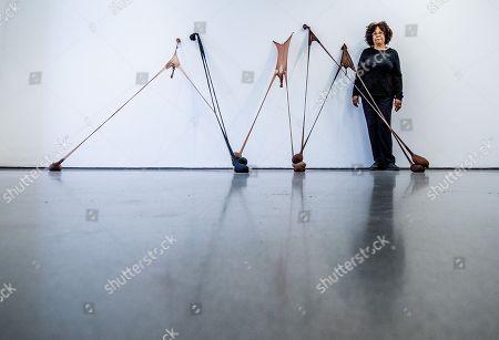 'Senga Nengudi' exhibition at The Henry Moore Institute, Leeds