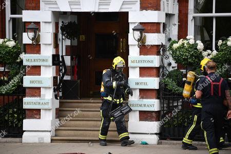 Chemical leak at hotel in Kensington, London
