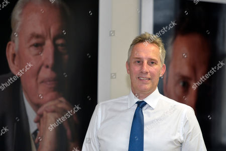 Ian Paisley pictured in Ballymena after his party the DUP agreed to reinstate the North Antrim MP.