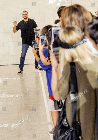 Editorial photo of Brognano show, Spring Summer 2019, Milan Fashion Week, Italy - 20 Sep 2018