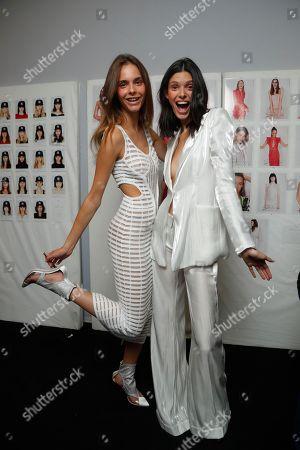 Genny show, Backstage, Milan Fashion Week