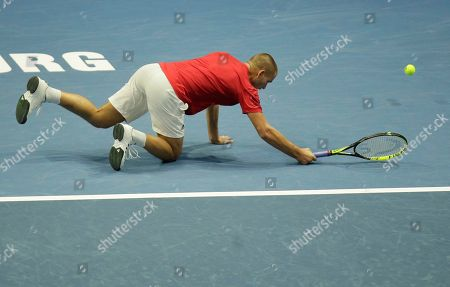 Editorial image of Russia Tennis Open, St.Petersburg, Russian Federation - 20 Sep 2018