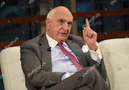 Home Depot co-founder Ken Langone participates in the Yahoo Finance All Markets Summit: A World of Change at The TimesCenter, in New York