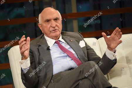 Stock Photo of Home Depot co-founder Ken Langone participates in the Yahoo Finance All Markets Summit: A World of Change at The TimesCenter, in New York