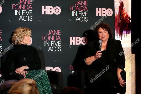 Jane Fonda, Susan Lacy (Director, Producer)