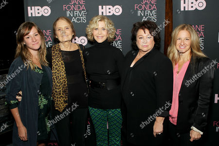 Editorial picture of Special New York Q&A for HBO Documentary Films' 'Jane Fonda In Five Acts', USA - 20 Sep 2018