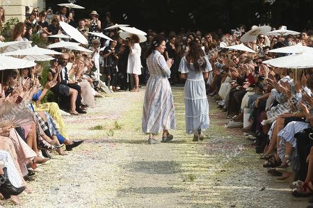 Editorial photo of Luisa Beccaria show, Spring Summer 2019, Milan Fashion Week, Italy - 20 Sep 2018