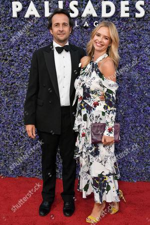 Stock Photo of Matt Hermer and Marissa Hermer