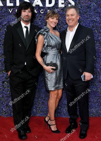 Pete Yorn, Christina Harvey and Rick Yorn