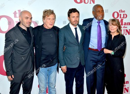 David Lowery, Robert Redford, Casey Affleck, Danny Glover and Sissy Spacek