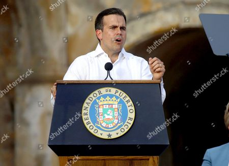 Remembrance ceremony for Hurricane Maria, San Juan