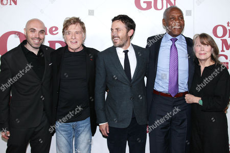David Lowery (Writer, Director), Robert Redford, Casey Affleck, Danny Glover and Sissy Spacek