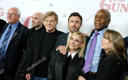 John Hunt, David Lowery, Robert Redford, Casey Affleck, Danny Glover and Sissy Spacek