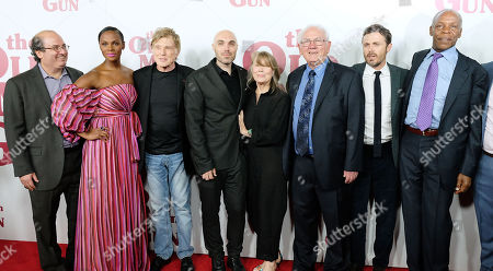 Jeremy Steckler, Tika Sumpter, Robert Redford, David Lowery, Sissy Spacek, John Hunt, Casey Affleck and Danny Glover