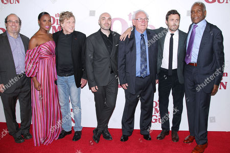 Jeremy Steckler, Tika Sumpter, Robert Redford, David Lowery, Sissy Spacek, John Hunt, Casey Affleck and Danny Glover