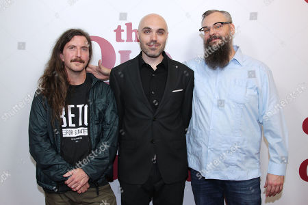 Stock Picture of Toby Halbrooks (Exec. Prod), David Lowery (Director) and James M. Johnston (Exec. Prod)