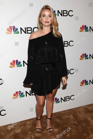 Kelli Garner attends the NBC 2018-2019 season casts party at The Four Seasons Restaurant, in New York