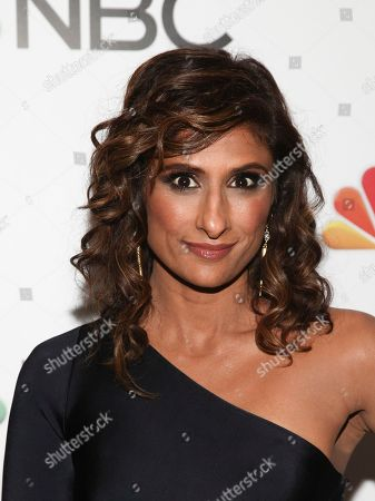 Sarayu Blue attends the NBC 2018-2019 season casts party at The Four Seasons Restaurant, in New York