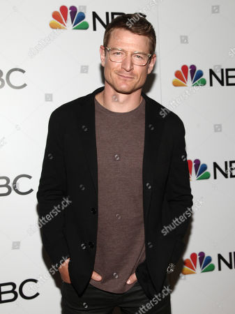 Stock Image of Philip Winchester attends the NBC 2018-2019 season casts party at The Four Seasons Restaurant, in New York